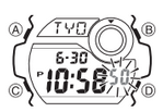How to set time on G-Shock G-8900