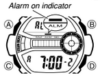 How to set alarm on G-Shock GD-200