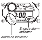 How to set alarm on G-Shock G-7900