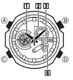 How to set time on Edifice EQW-M1100