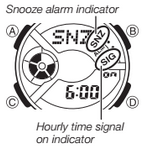 How to set alarm on Baby-G BA-110