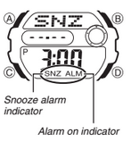 How to set alarm on Baby-G BGD-140
