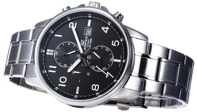 Edifice EFR-505 Stainless Steel-4