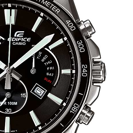 Edifice EFR-510L-1AVEF with Elegant Leather Band-1