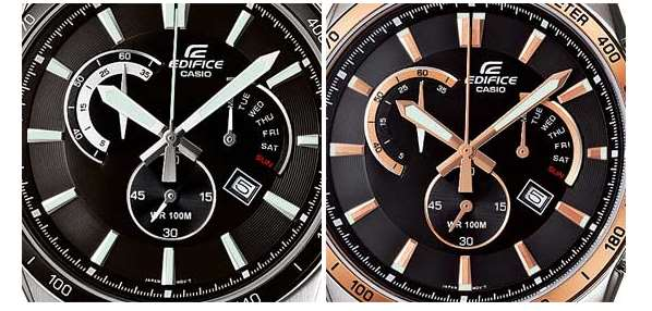 Edifice EFR-510L-1AVEF with Elegant Leather Band-2
